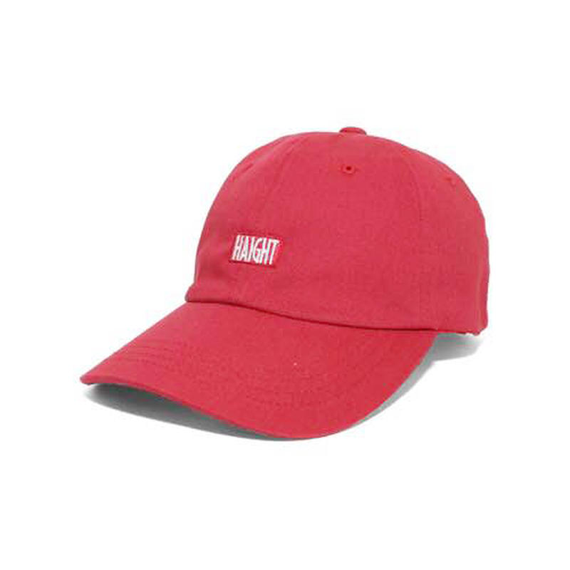 HT-W166001 / BOX LOGO BALL CAP - RED