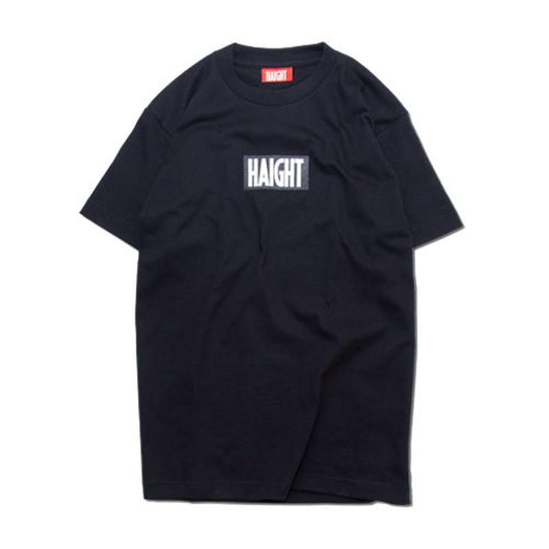 HT-W161001 / BOX LOGO TEE - BLACK