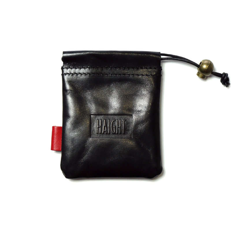 HT-G187004 / LEATHER PURSE - BLACK