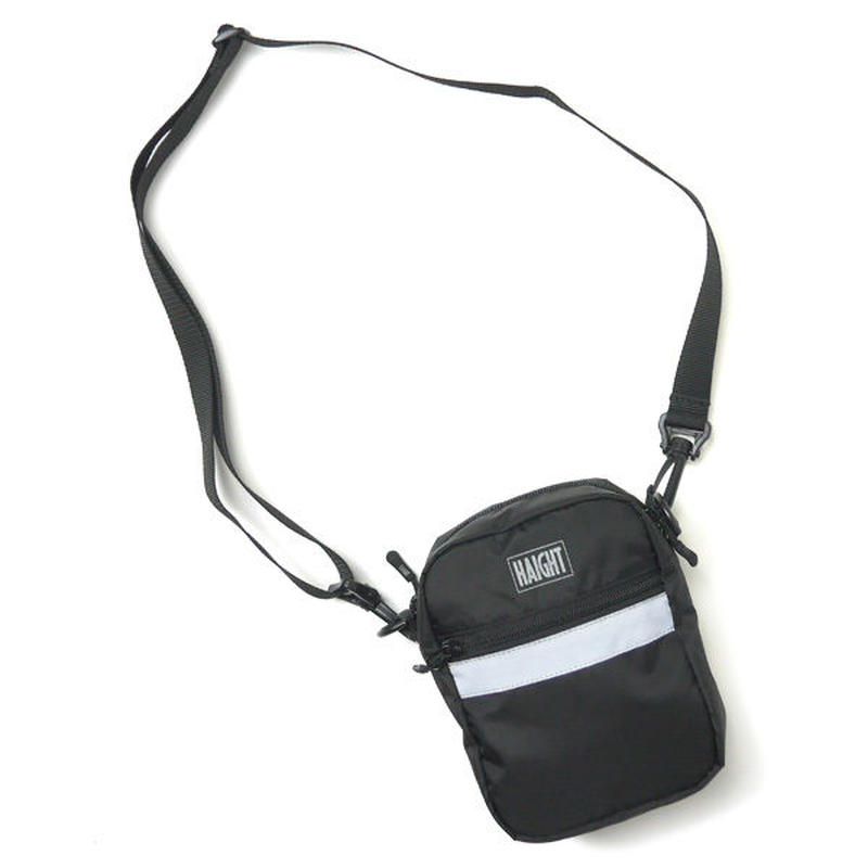 HT-G180001 / Ripstop Shoulder Pouch - BLACK