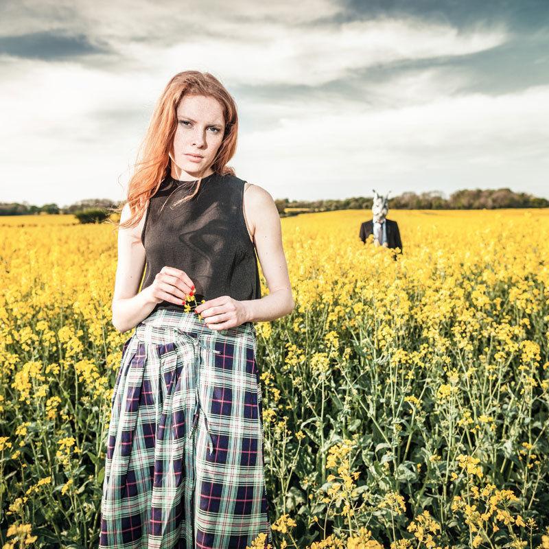 スカート レディース Alice's Pig アリスズピッグ Harriet's Highland