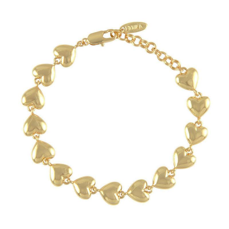 ブレスレット レディース Lucky Charm Heart Bracelet The Lover アメリカン ブランド Ettika エティカ
