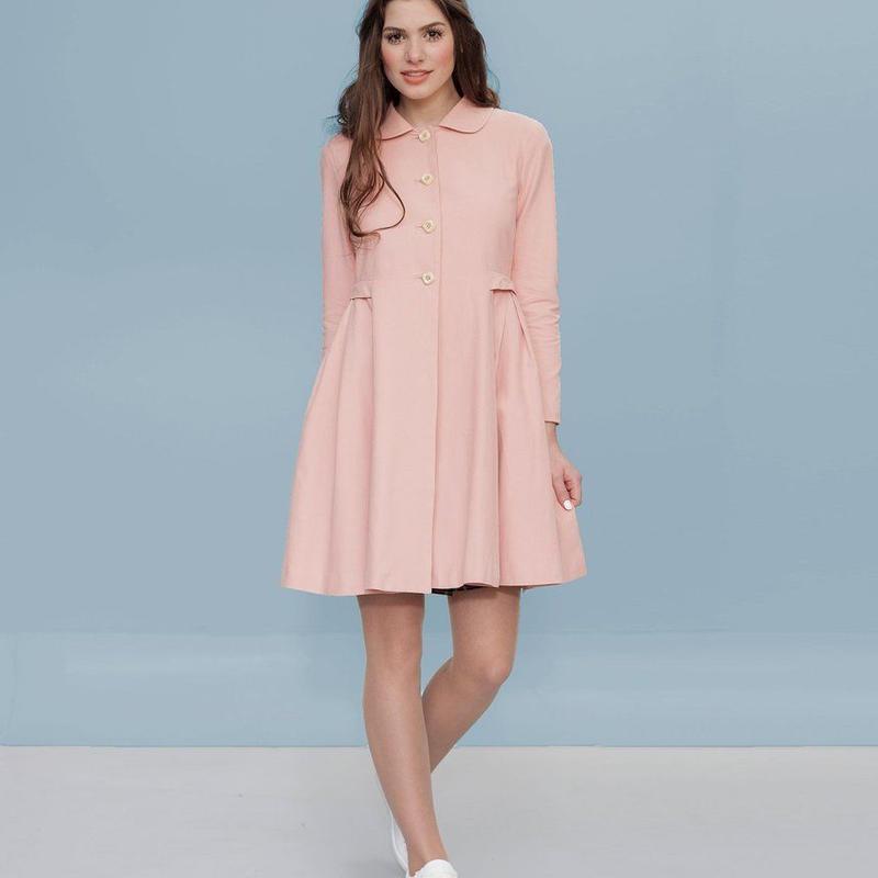 スプリングコート レディース Alice's Pig アリスズピッグ Demis Dallas Coat Pink