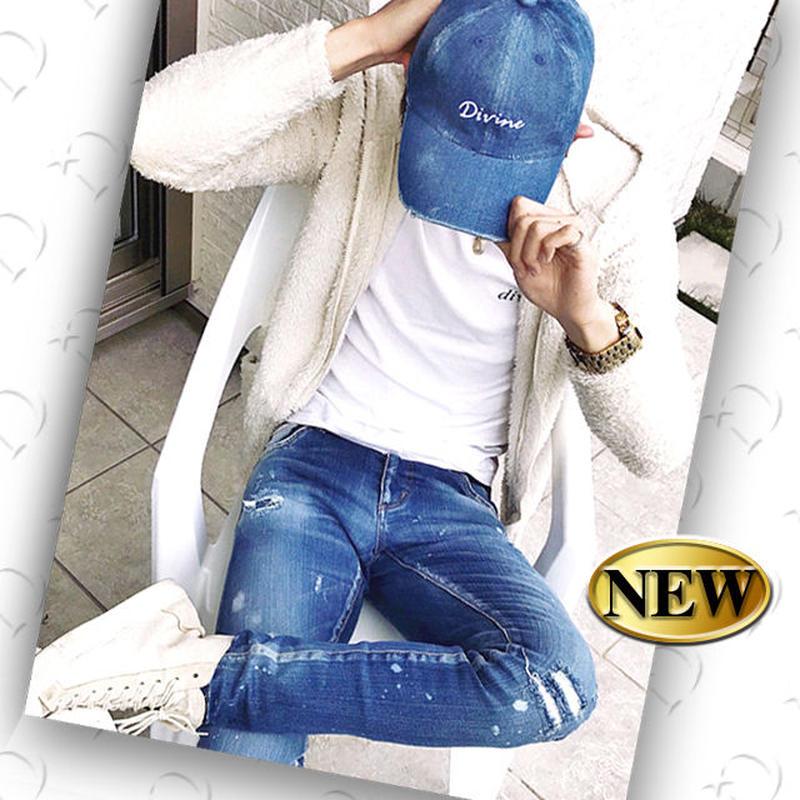 CAP【 divine】デニム Wash【 フルオーダー 】 DIVINEオリジナル