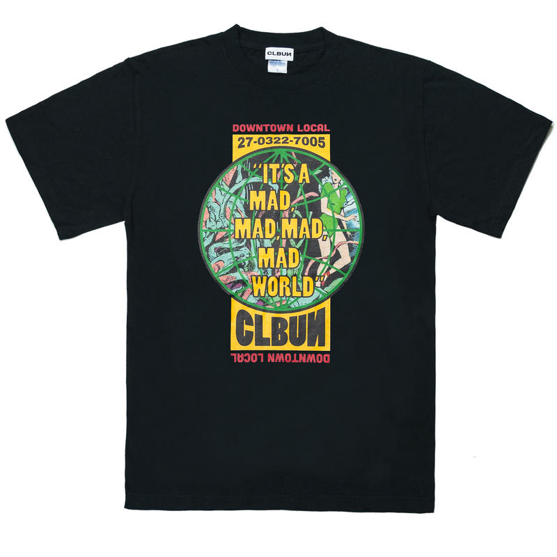 MADWORLD Tee shirts /BLK