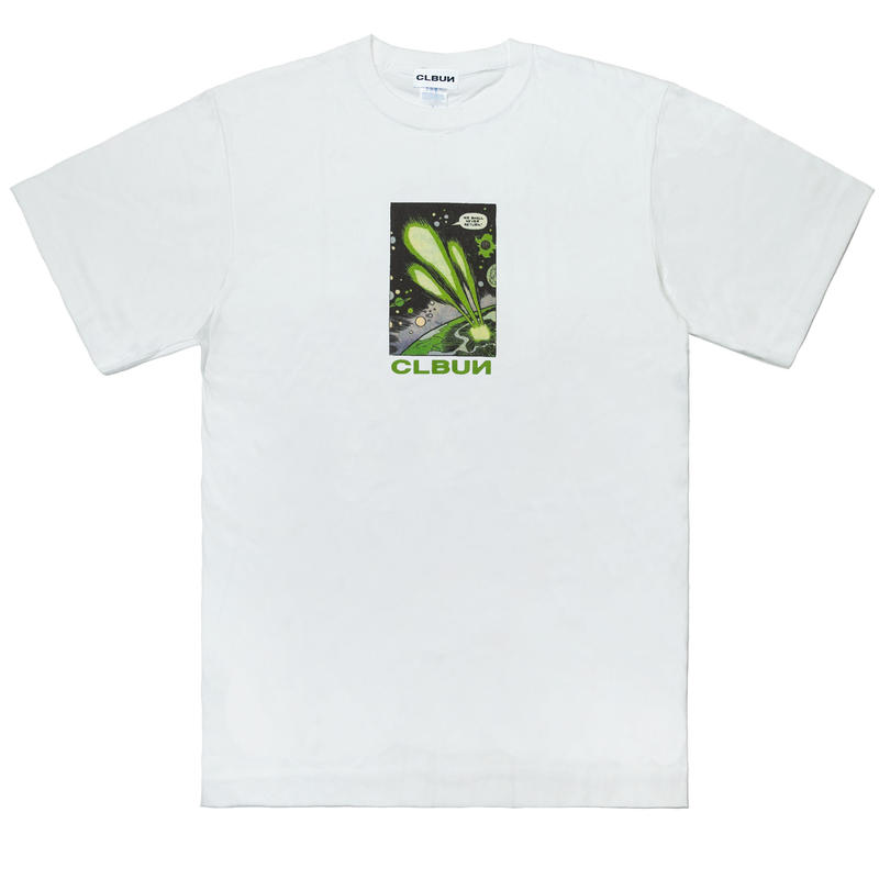 NEVERRETURN Tee shirts /WHT