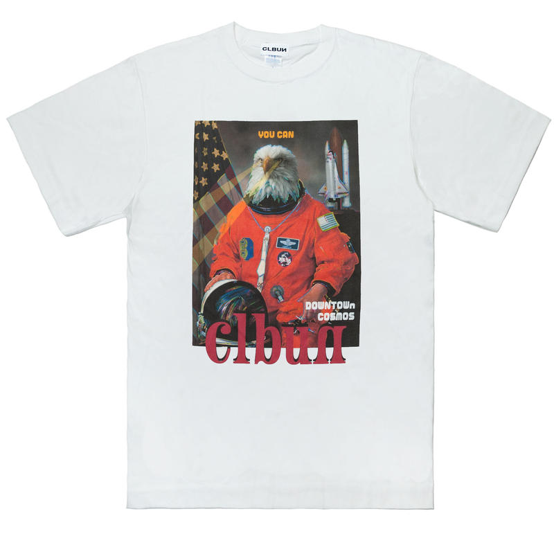 EAGLENAUTS Tee shirts /WHT