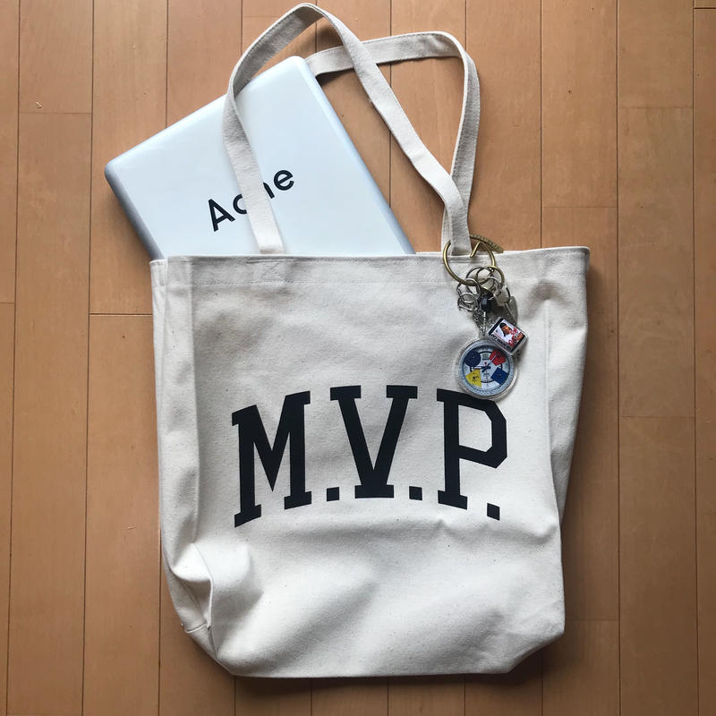 M.V.P. M size Tote Bag
