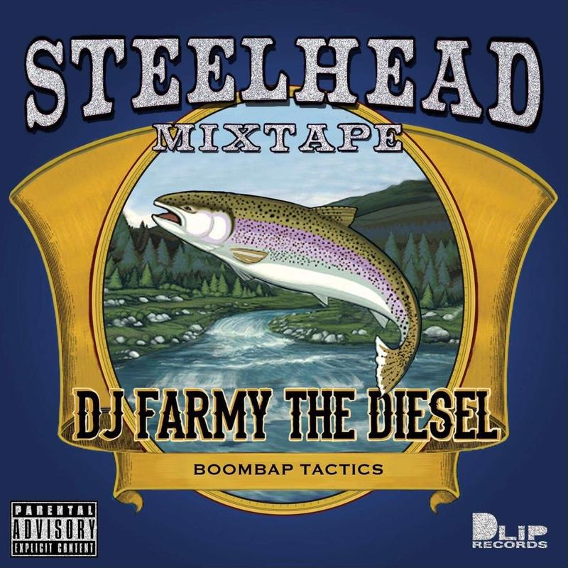 "【The Blaq Butta' #001】""STEELHEAD"" Mixed by DJ FARMY THE DIESEL"