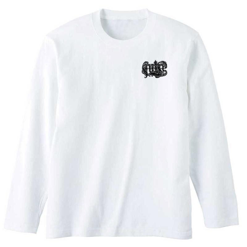 "BLAHRMY ""10 ROUND"" Long Sleeve TEE -White-"