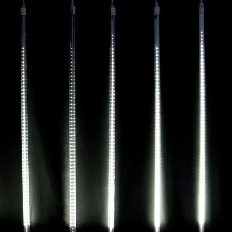 LED イルミネーション 流れ 点滅 ディスプレイ 飾り 照明 ライティング クリスマス ドロップライト 庭 ガーデン 家 白 CR-41(DRL100W2)