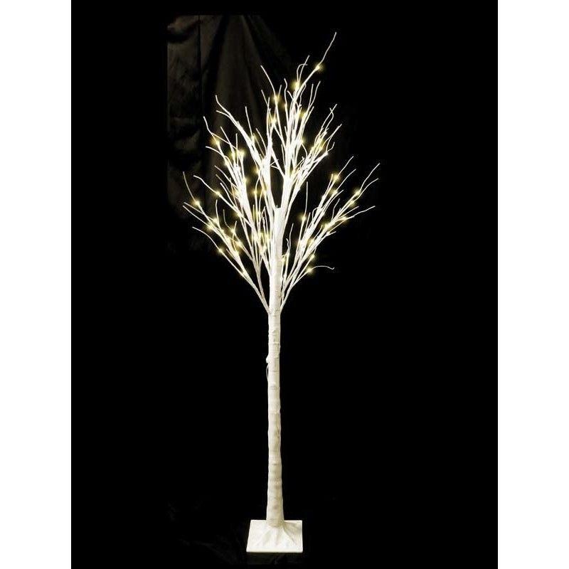 LED 木 イルミネーション ディスプレイ 飾り 照明 ライティング クリスマス 白木ライト 180cm【TRE180D】CR-57