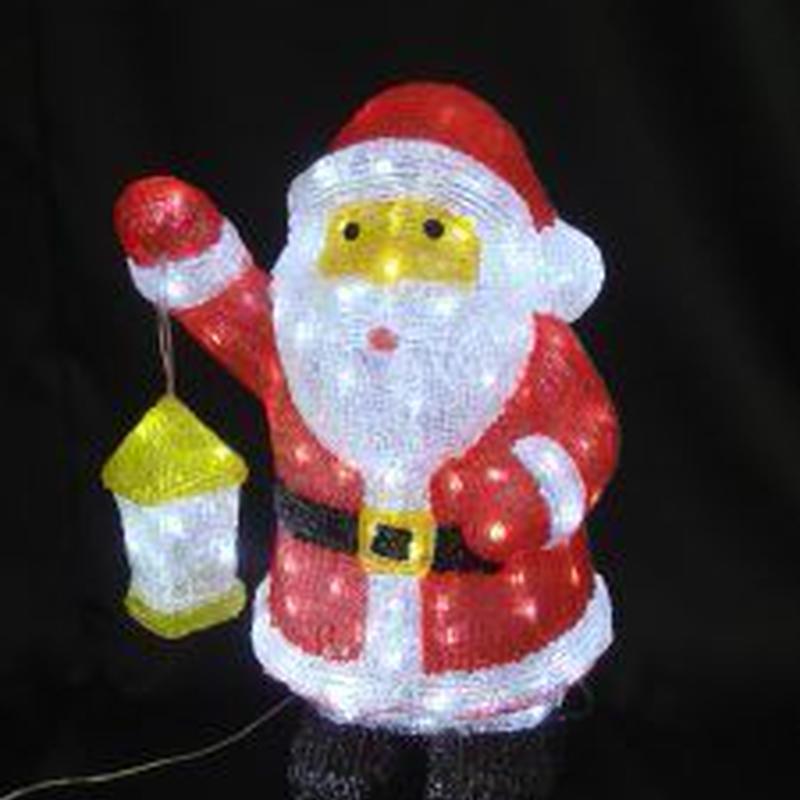 LED イルミネーション ディスプレイ 飾り 照明 ライティング クリスマス   サンタ【L3D249】CR-85