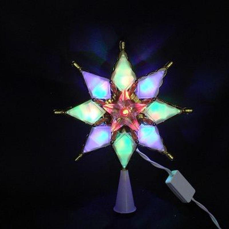 LED イルミネーション ディスプレイ 飾り 照明 ライティング クリスマス  トップスターオーロラ【L2DM205】CR-76