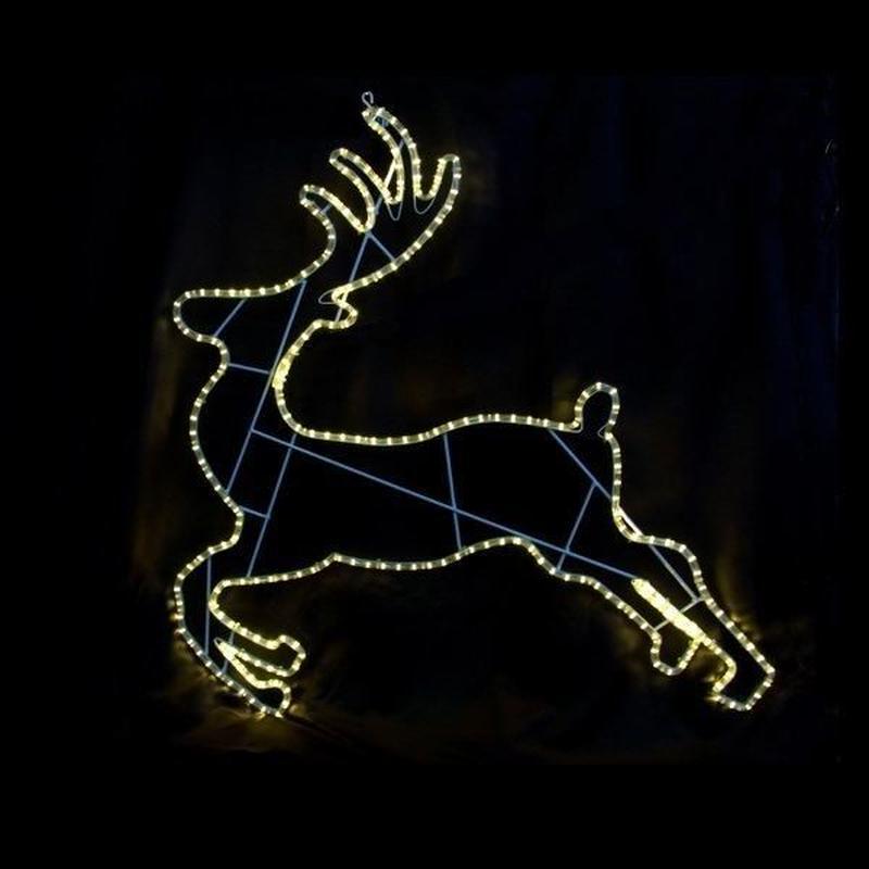 LED イルミネーション ディスプレイ 飾り 照明 ライティング クリスマス  ランディングトナカイ 【L2DM283】CR-72
