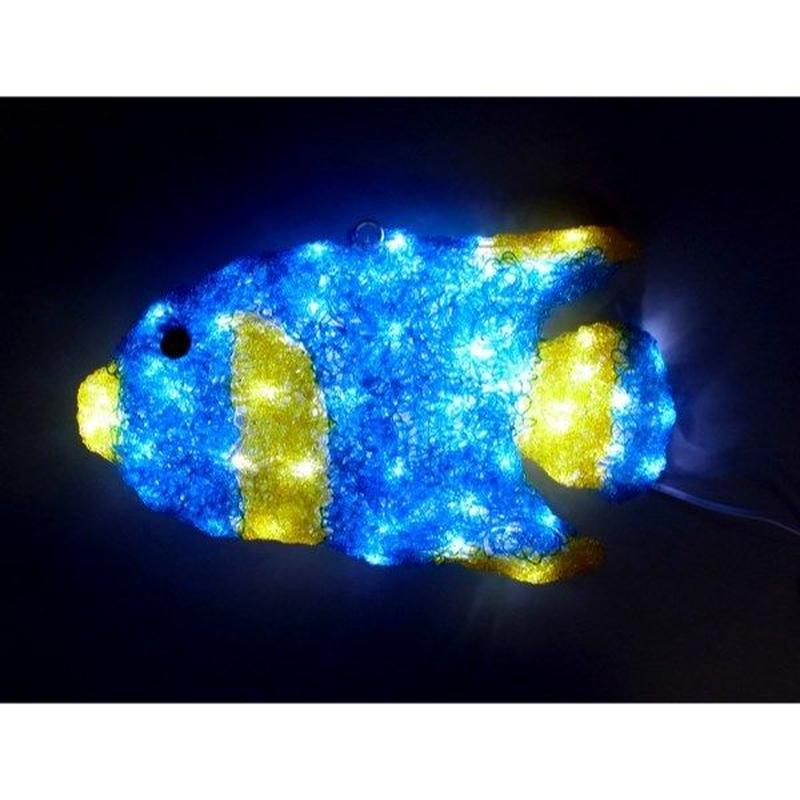 LED イルミネーション ディスプレイ 飾り 照明 ライティング クリスマス  エンジェルフィッシュ【L3D355】CR-92