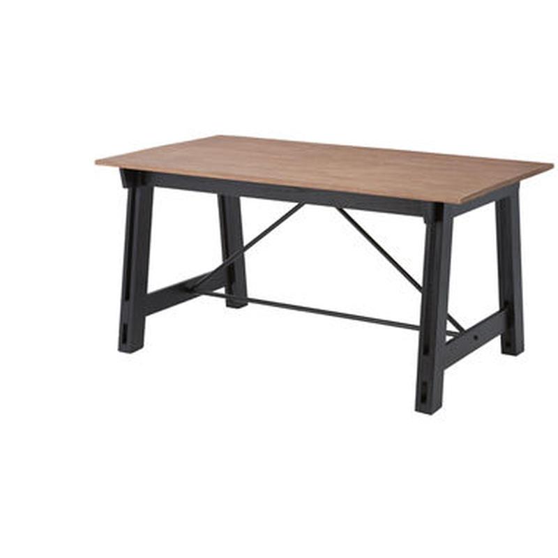 テーブル【Azumaya 東谷】Isaac アイザック ダイニングテーブル 天然木 インテリア 木製 家具 テラス カフェ アトリエ 教室 AZ2-150 ( NW-853T )