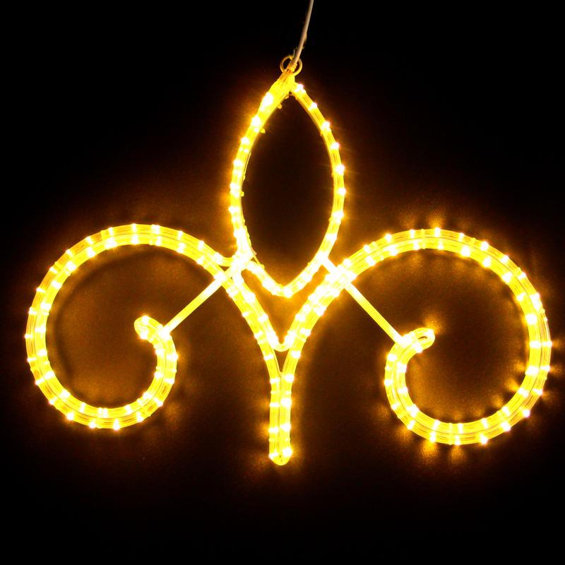 LED イルミネーション ディスプレイ 飾り 照明 ライティング クリスマス   ストリートモチーフ アラベスク62【L2DM292】CR-73