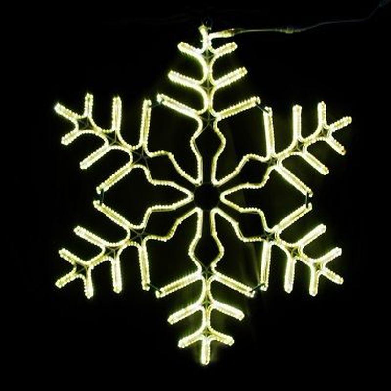 LED イルミネーション ディスプレイ 飾り 照明 ライティング クリスマス  雪 スノーフレーク 電球色【L2DM704】CR-78
