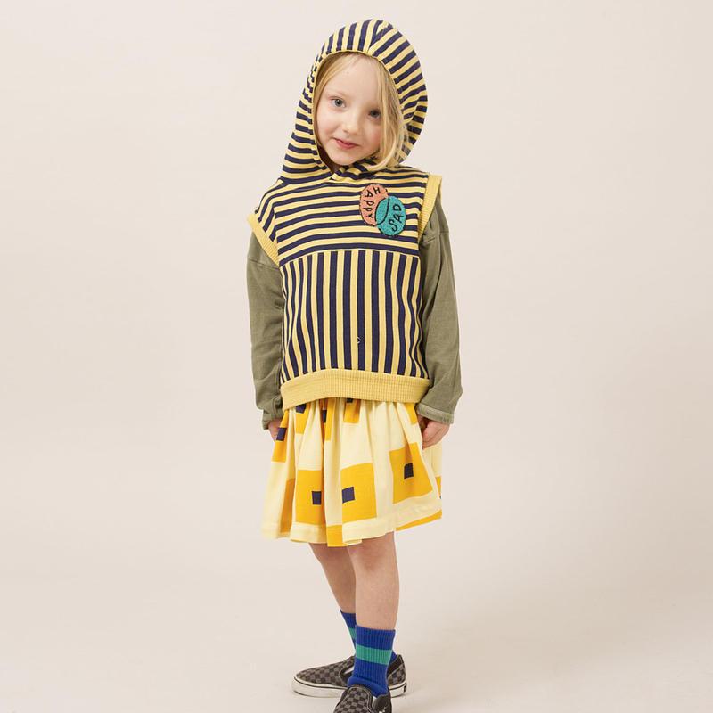 BOBO CHOSES Happy Sad Sleeveless Sweatshirt ノースリーブシャツ