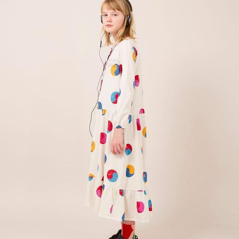 BOBO CHOSES  yin Yang printed dress  ワンピース 定価$230