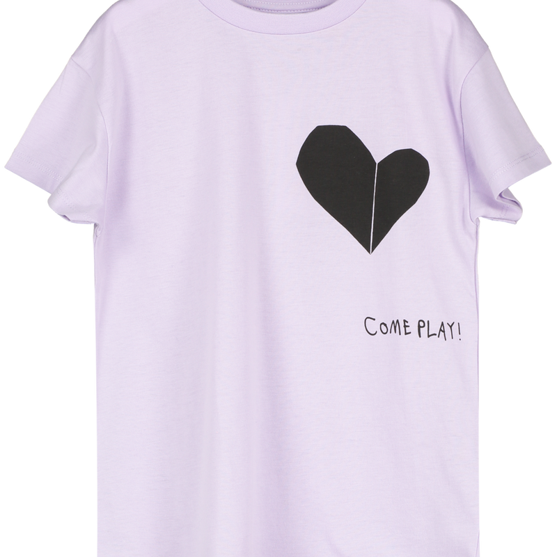 BEAU LOVES Tシャツ  Violet, Come Play!