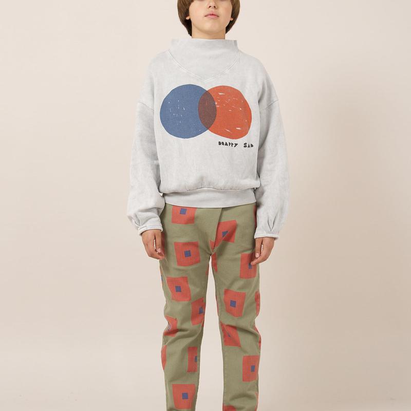 BOBO CHOSES rib collar sweatshirts トレーナー 定価$128