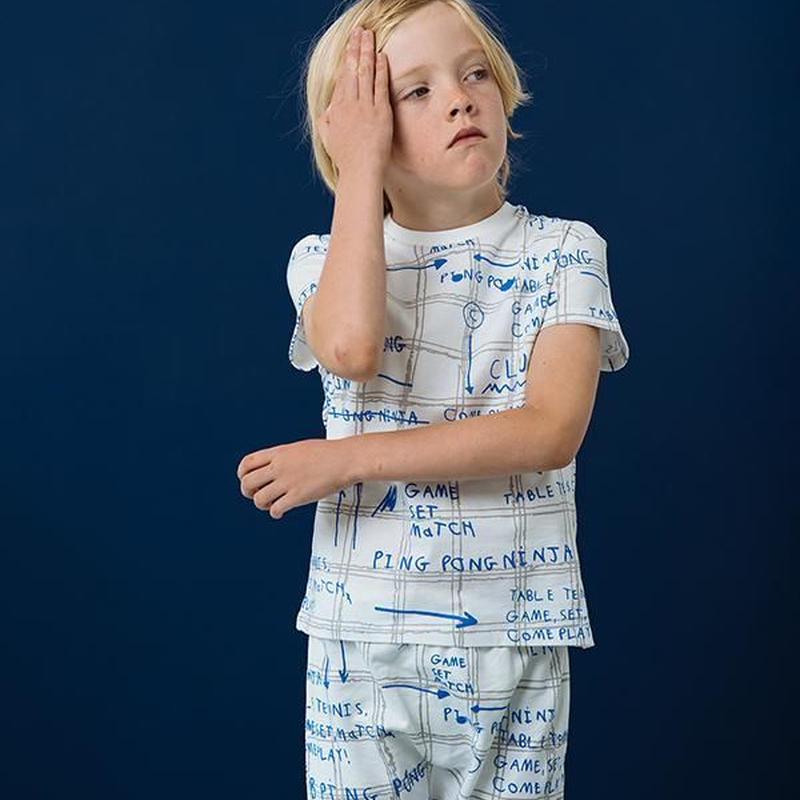 BEAU LOVES Tシャツ Game Plan AOP
