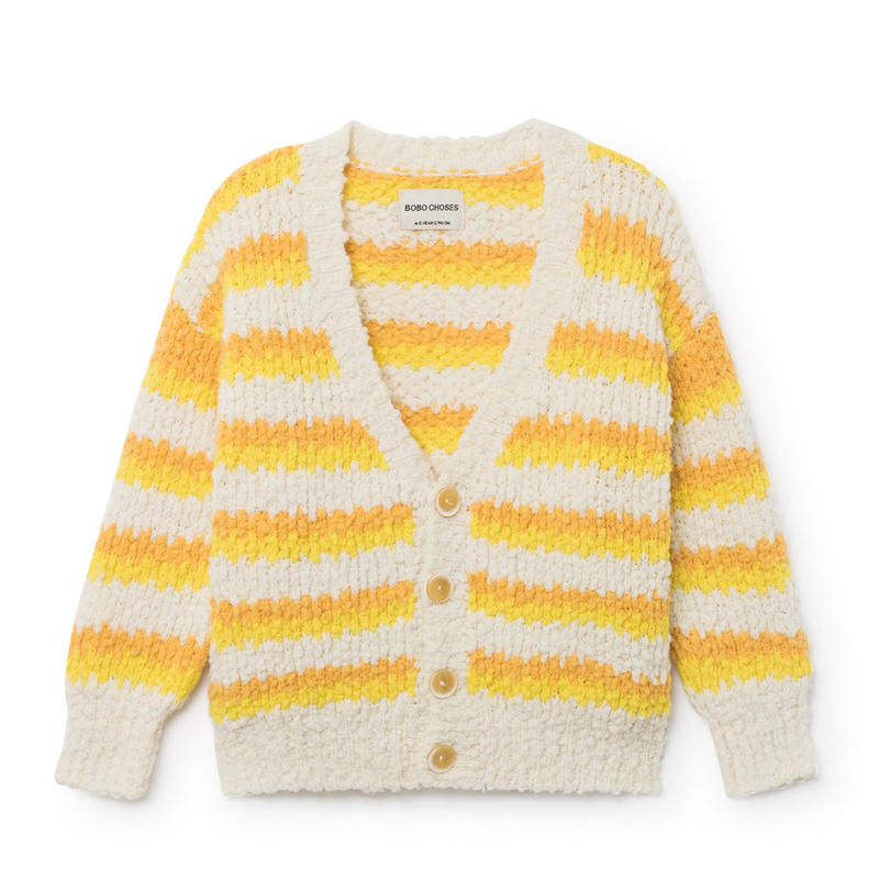 BOBO CHOSES  striped cardigan  カーディガン 定価$159