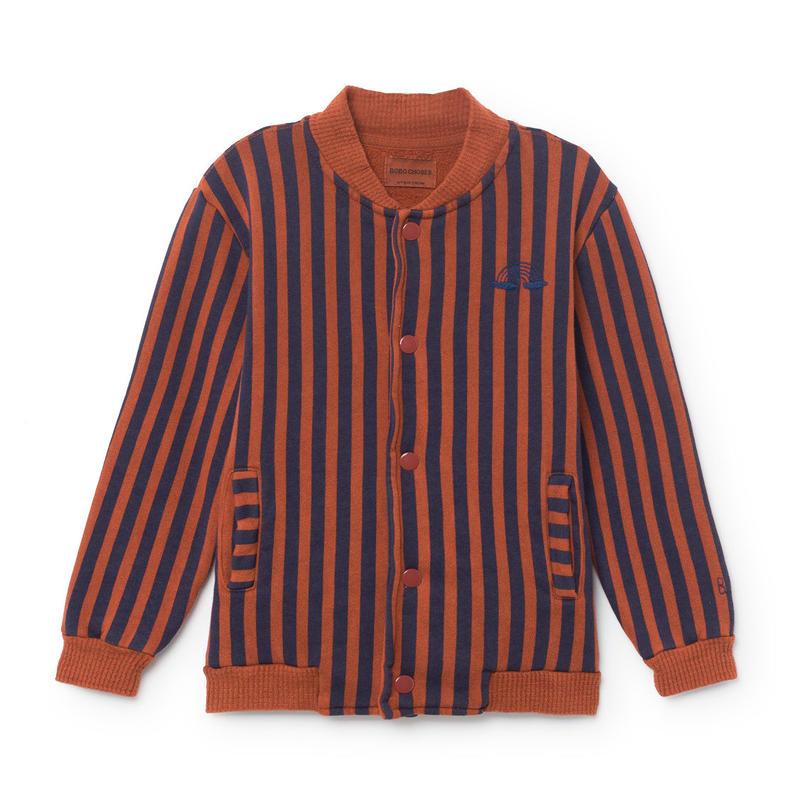BOBO CHOSES striped bomber jacket ジャケット 定価$173