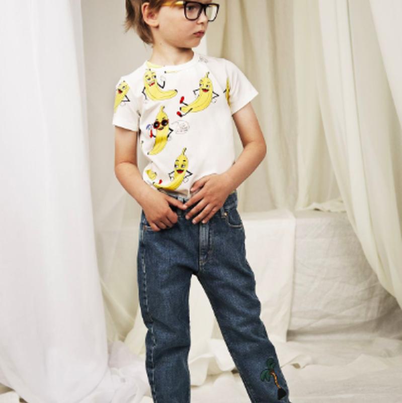 mini rodini ミニロディーニ  BANANAS PRINTED T-SHIRT Tシャツ 定価$39