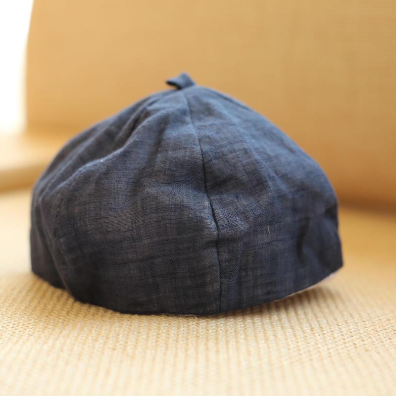 ベレー帽  ネイビー