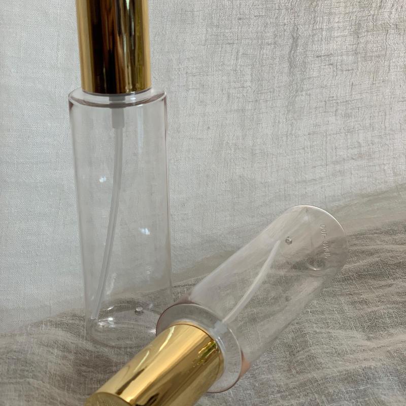 スプレー容器(ゴールドキャップ) & 泡ポンプ容器 (各1本)