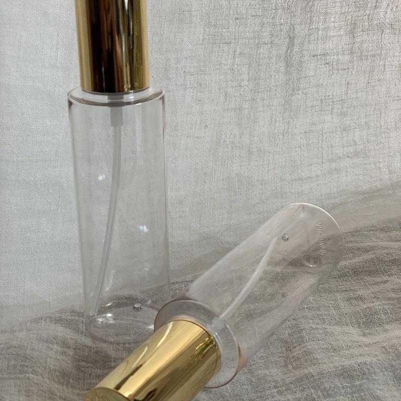 【期間限定・数量限定】スプレー容器 120ml. (ゴールドキャップ)