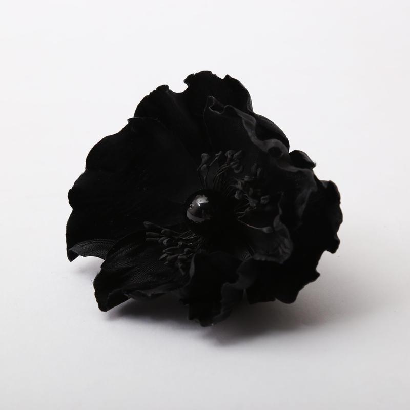 アネモネリング #BLACK/BLACK