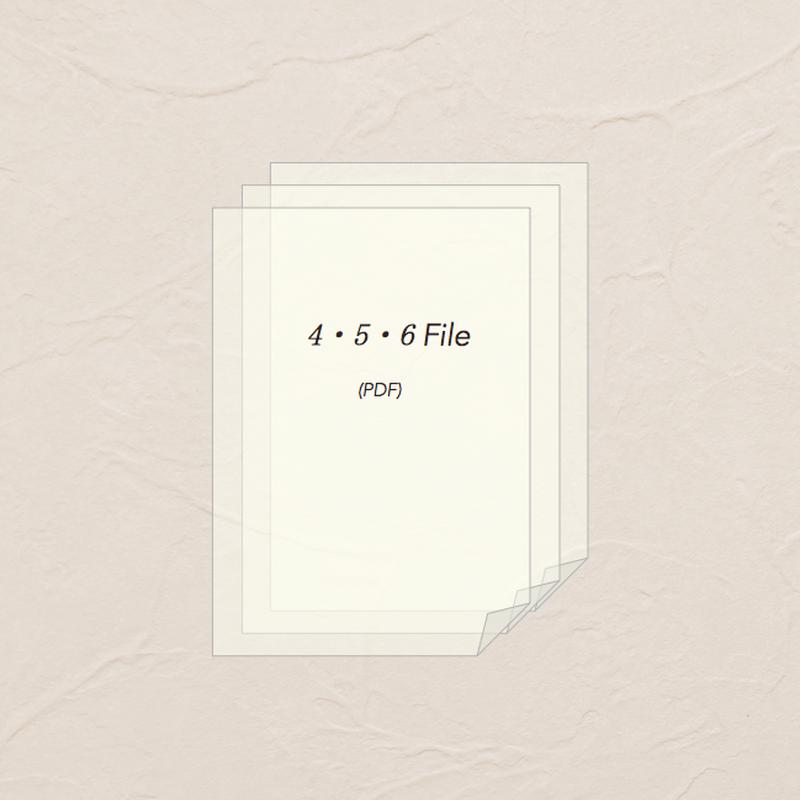 スタートセット B(File)