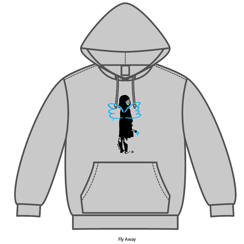 Fly Away [281_AntiNuke series]Hoodie