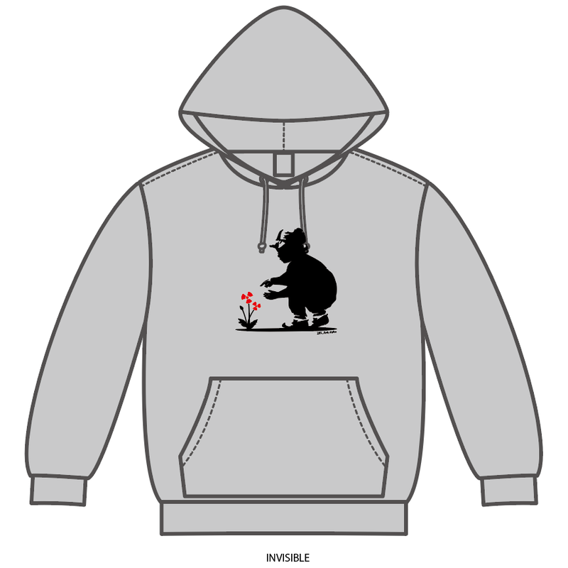 INVISIBLE [281_AntiNuke series]Hoodie