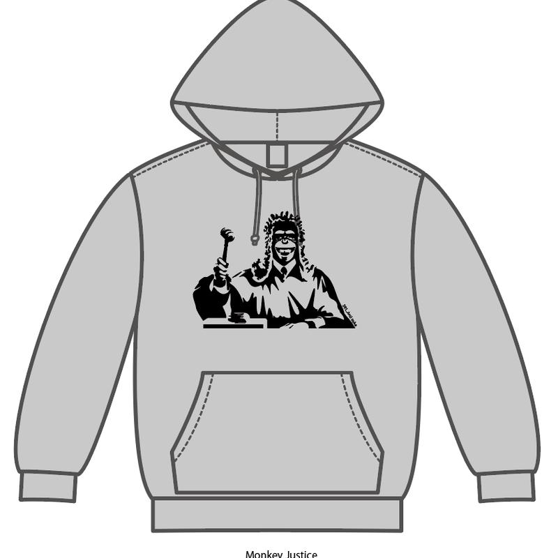 Monkey Justice[281_AntiNuke series]Hoodie