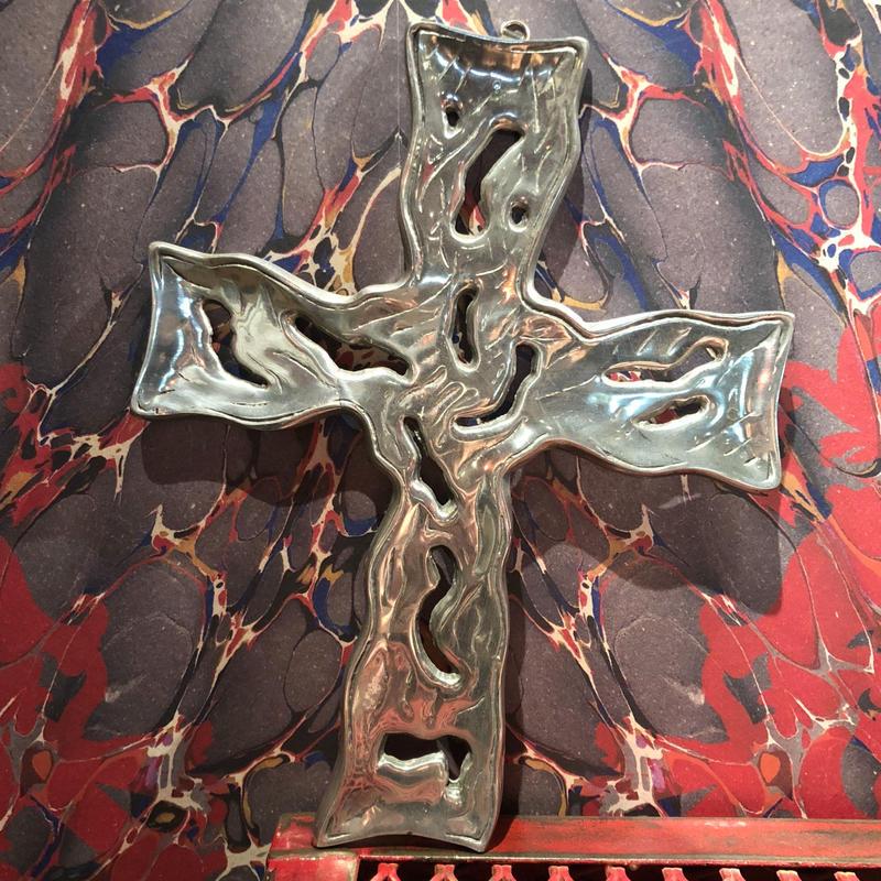 Vintage Wall Decor Cross