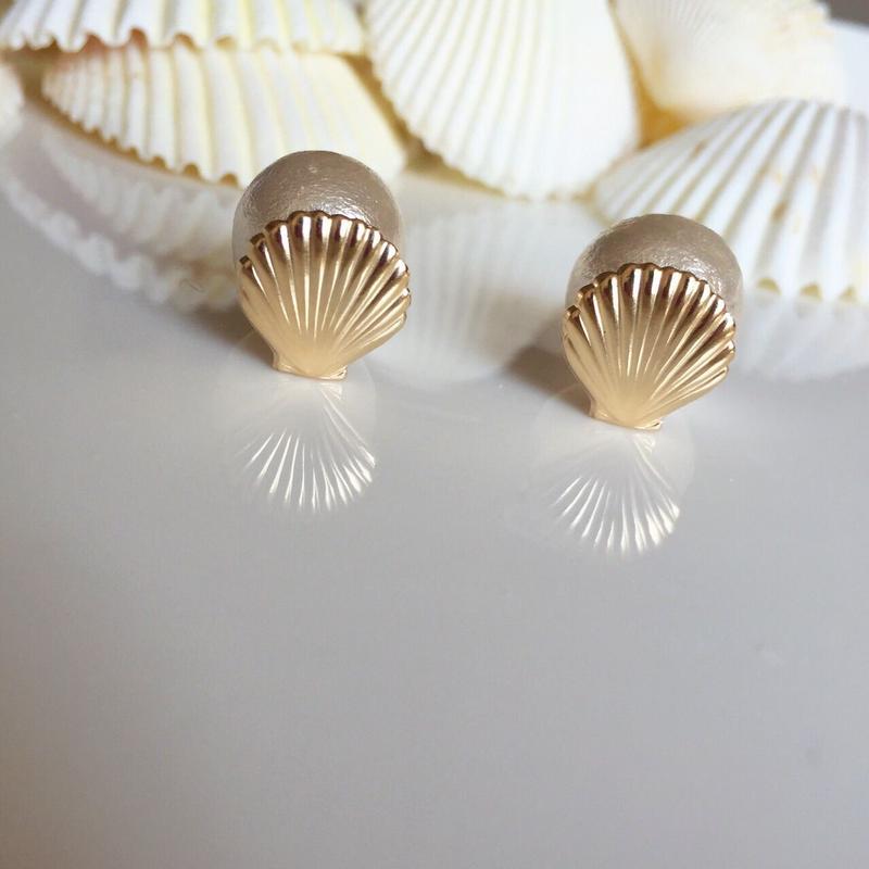 Shell cottonperl pierce