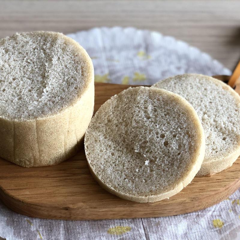 ホワイトソルガムのラウンド食パン