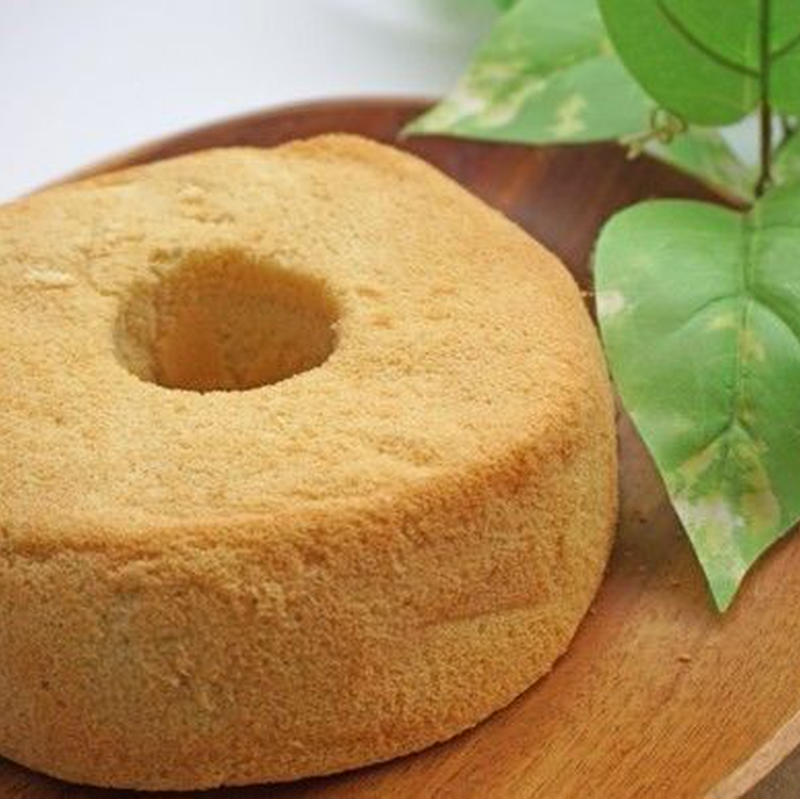 グルテンフリー 米粉シフォンケーキ