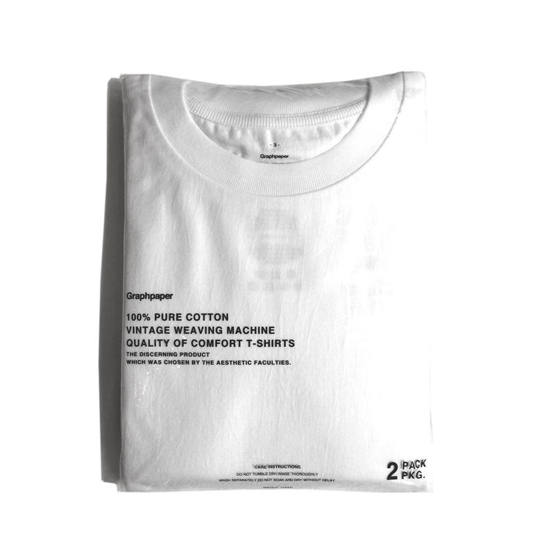 Graphpaper Original 2-Pack Crew Neck Tee