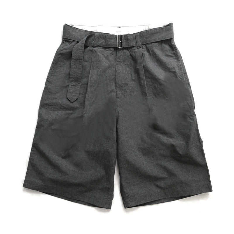 Graphpaper  Typewriter Belted Shorts