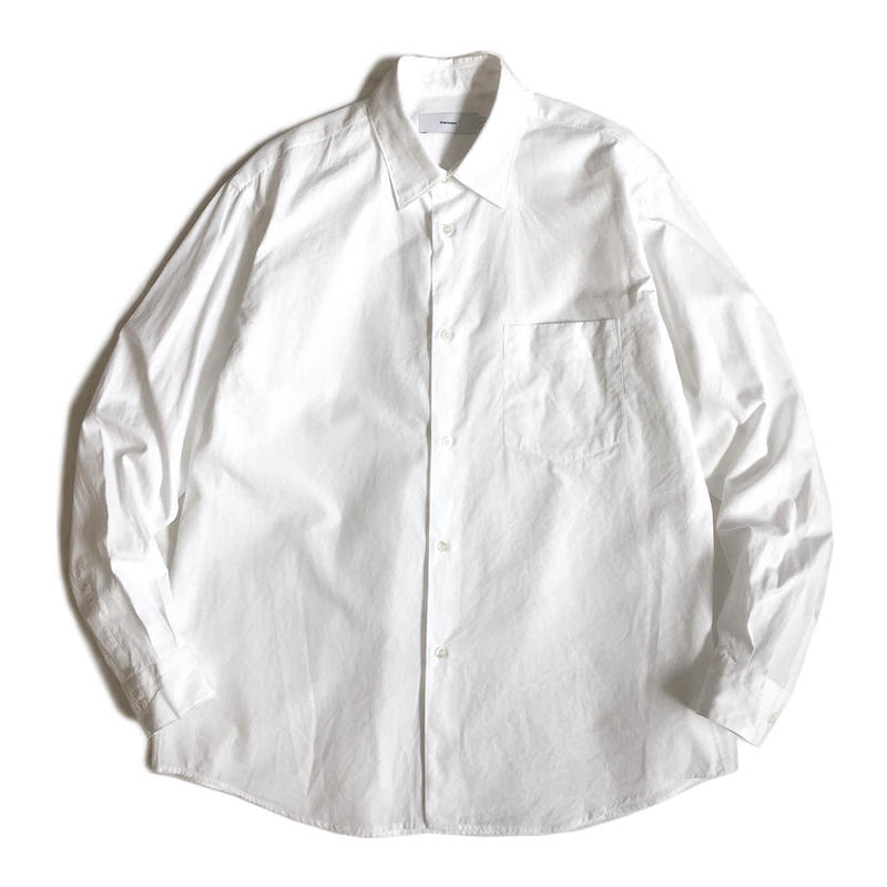 Graphpaper BROAD REGULAR COLLAR SHIRT