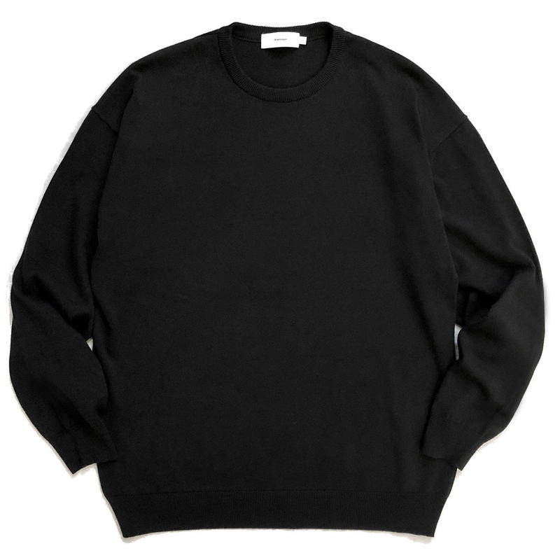 Graphpaper Suvin L/S Crew Neck knit
