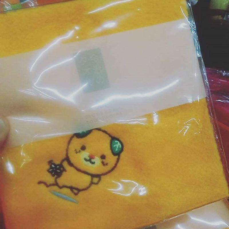 みきゃんの今治タオル(ハンドタオル)