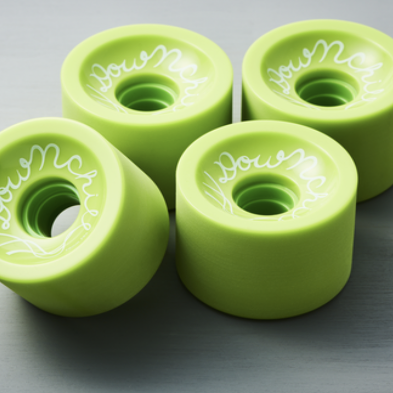 "DOWNCHILL wheel  ""WASABI"" 70mm 78a"