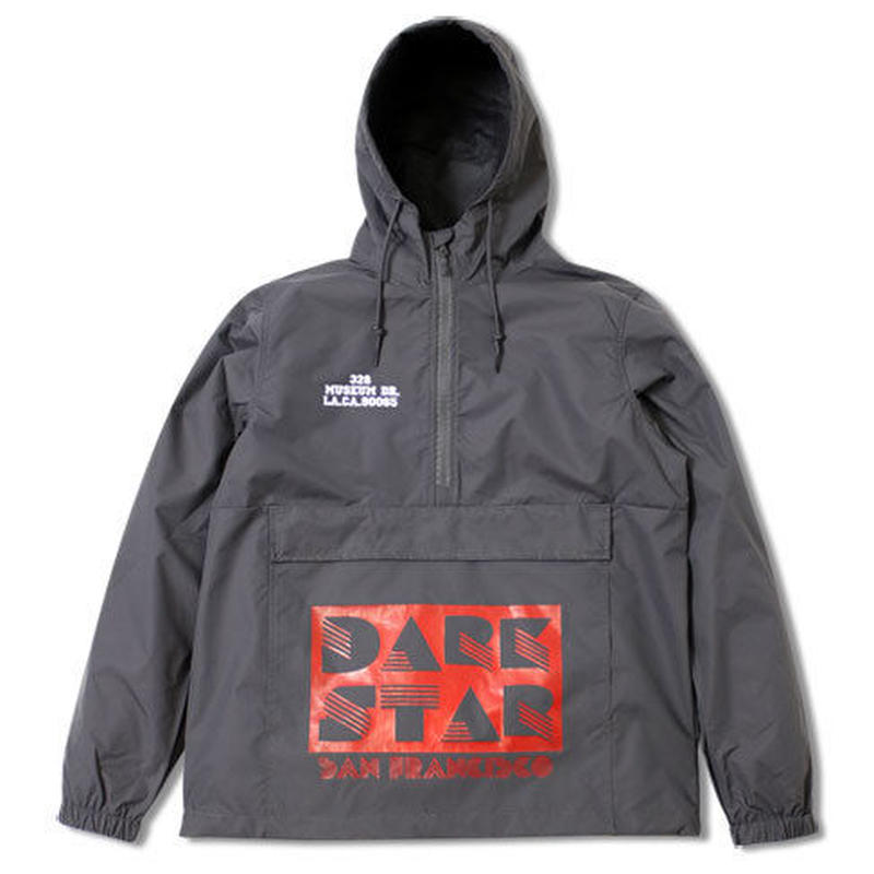 "WATER PROOF ANORAK ""DARK STAR"""